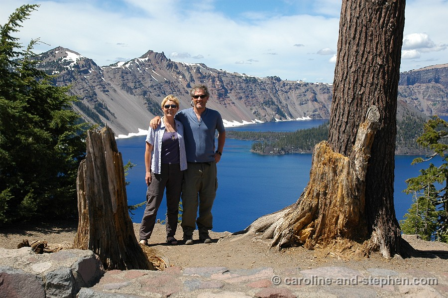 Lassen Volcanic and Crater Lake National Parks.